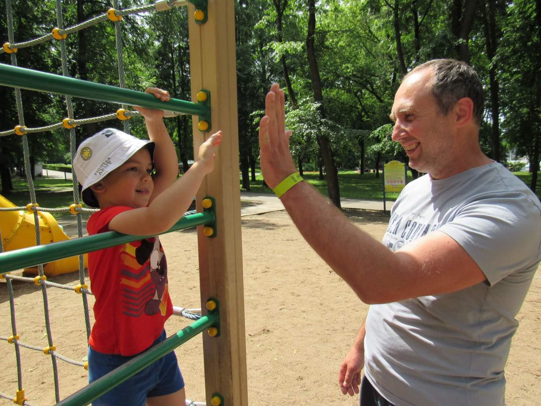 Вячеслав с сыном