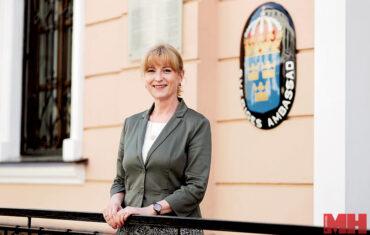 посол Швеции в РБ